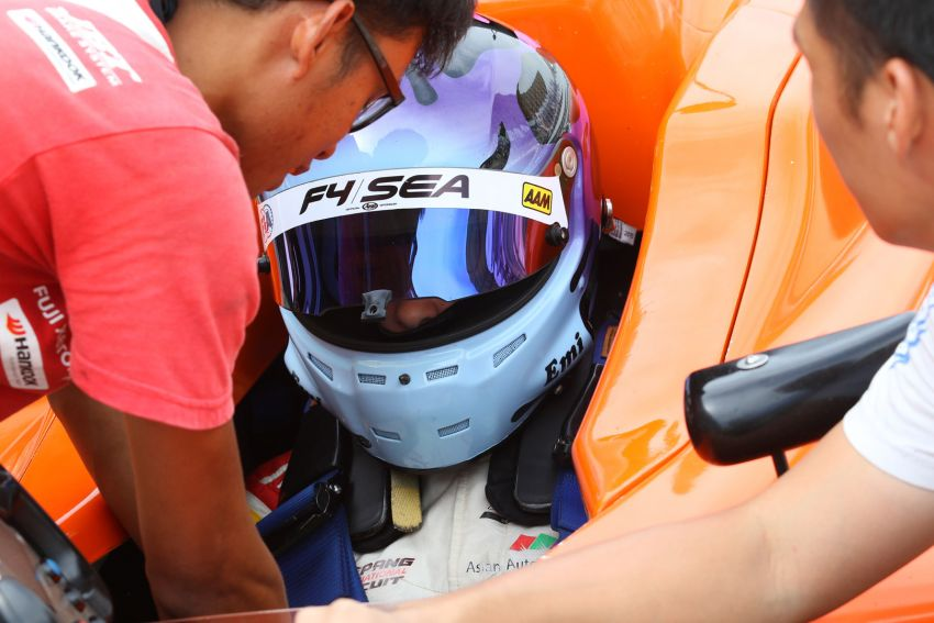 Formula 4 SEA fuelled by Petron, Rd 19-21 –  Ghiretti wins three out of three at Sepang International Circuit Image #894509