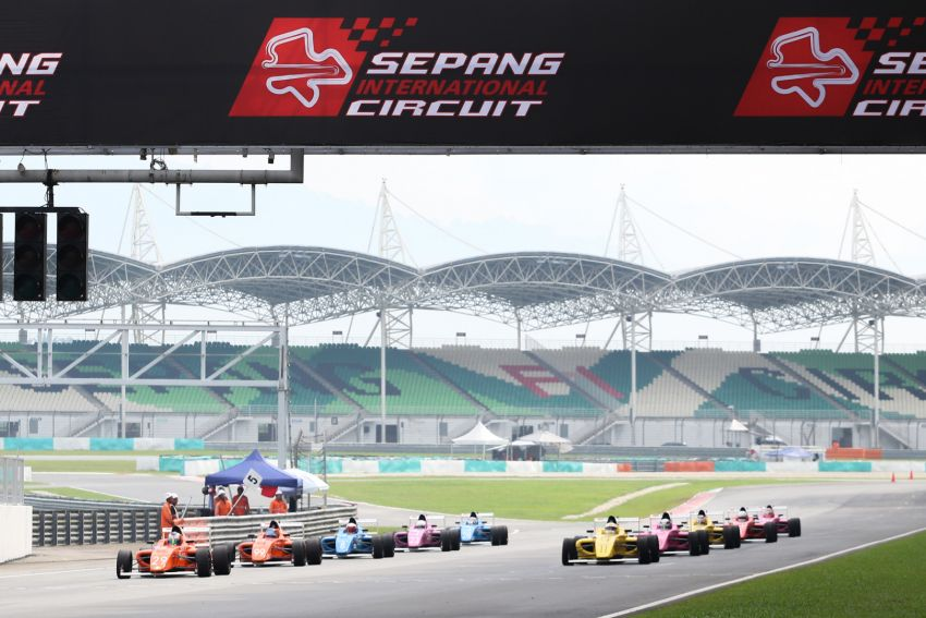 Formula 4 SEA fuelled by Petron, Rd 19-21 –  Ghiretti wins three out of three at Sepang International Circuit Image #894511
