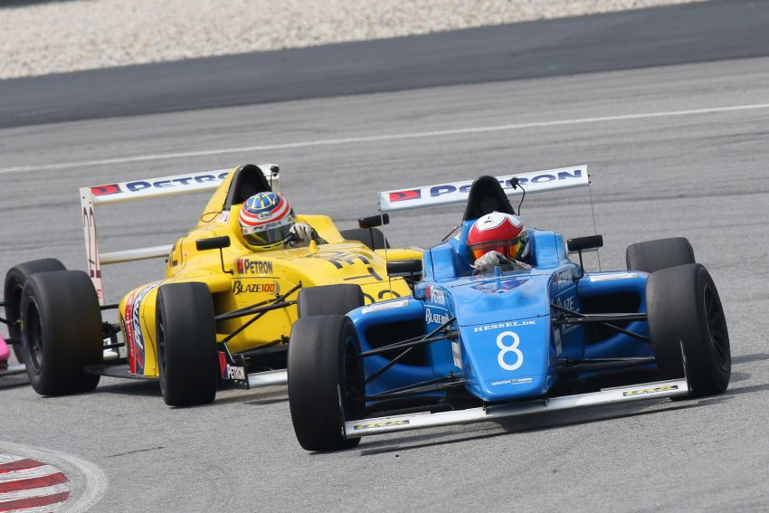 Formula 4 SEA fuelled by Petron, Rd 19-21 –  Ghiretti wins three out of three at Sepang International Circuit Image #894514