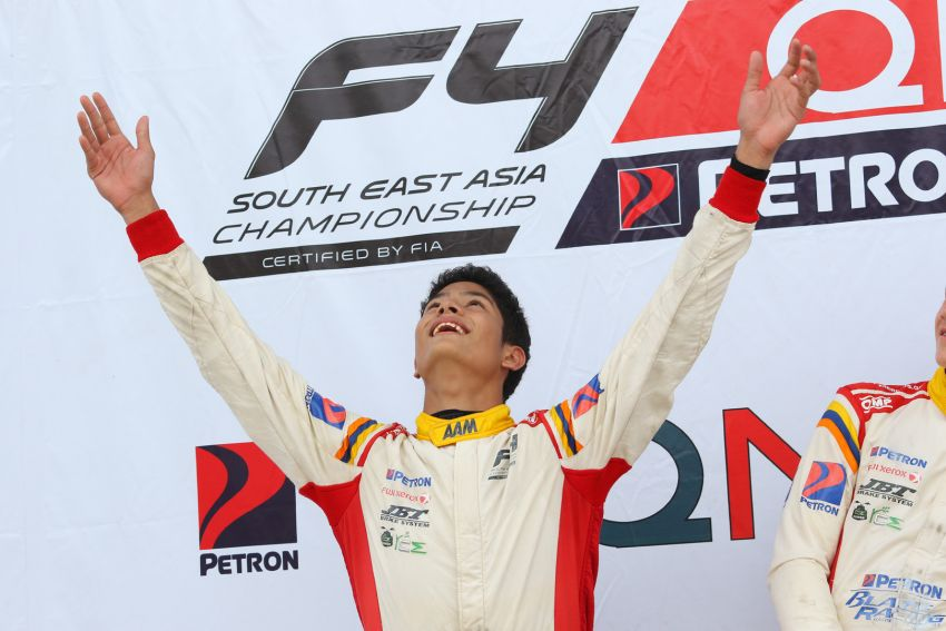 Formula 4 SEA fuelled by Petron, Rd 19-21 –  Ghiretti wins three out of three at Sepang International Circuit Image #894519