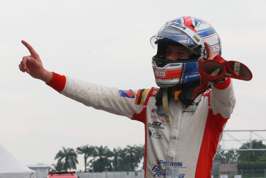 Formula 4 SEA fuelled by Petron, Rd 19-21 –  Ghiretti wins three out of three at Sepang International Circuit Image #894645