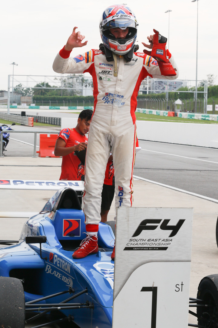 Formula 4 SEA fuelled by Petron, Rd 19-21 –  Ghiretti wins three out of three at Sepang International Circuit Image #894646