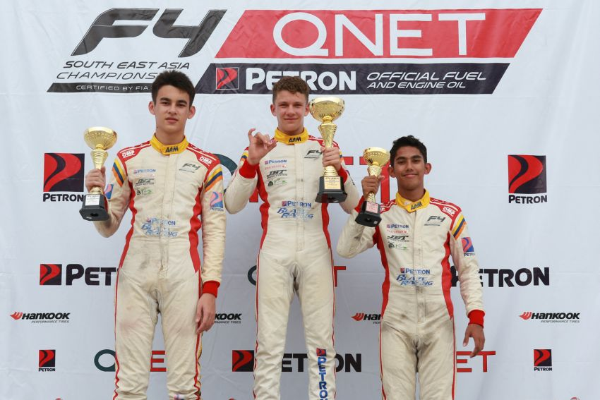 Formula 4 SEA fuelled by Petron, Rd 19-21 –  Ghiretti wins three out of three at Sepang International Circuit Image #894647