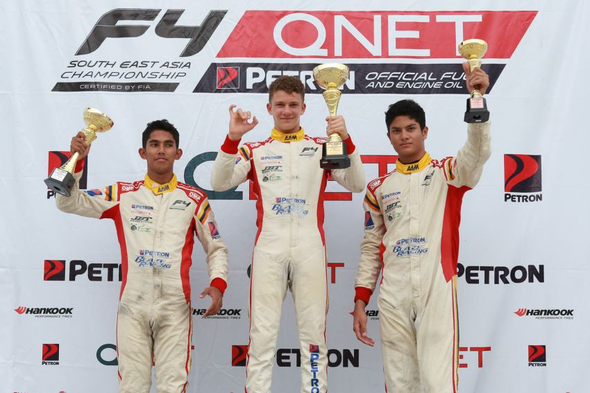 Formula 4 SEA fuelled by Petron, Rd 19-21 –  Ghiretti wins three out of three at Sepang International Circuit Image #894648