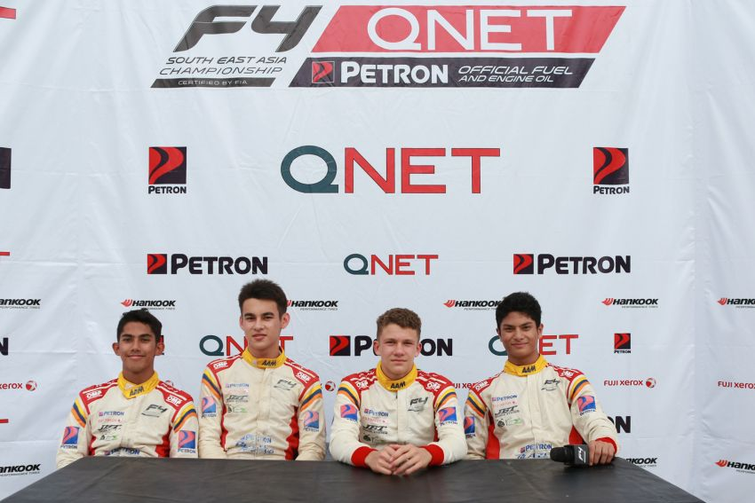Formula 4 SEA fuelled by Petron, Rd 19-21 –  Ghiretti wins three out of three at Sepang International Circuit Image #894650