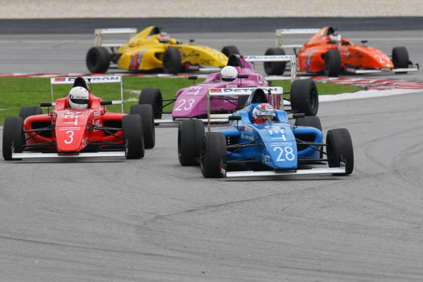 Formula 4 SEA fuelled by Petron, Rd 19-21 –  Ghiretti wins three out of three at Sepang International Circuit Image #894656