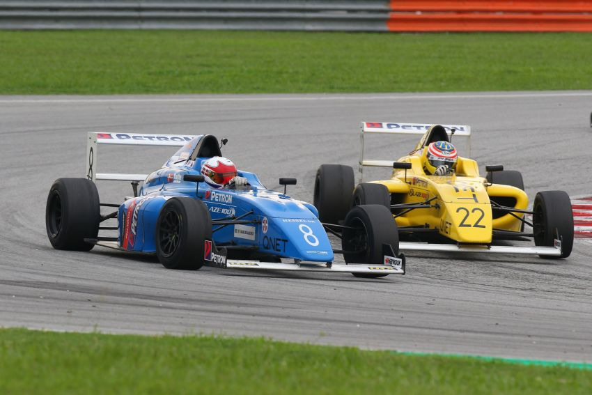 Formula 4 SEA fuelled by Petron, Rd 19-21 –  Ghiretti wins three out of three at Sepang International Circuit Image #894660
