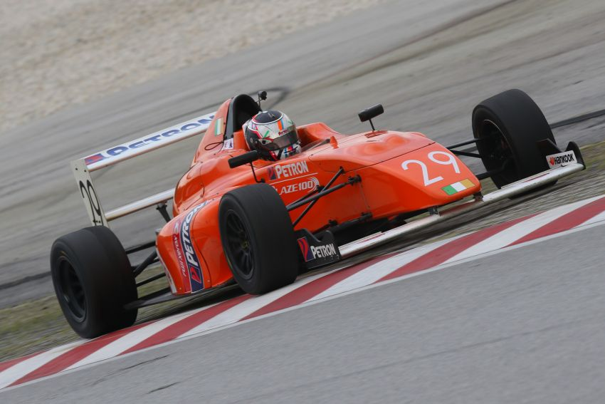 Formula 4 SEA fuelled by Petron, Rd 19-21 –  Ghiretti wins three out of three at Sepang International Circuit Image #894664