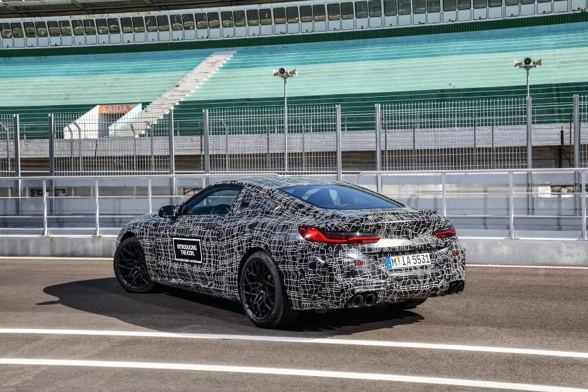 F92 BMW M8 Coupe preliminary details – V8, 591 hp, M xDrive AWD; Convertible and Gran Coupe models later Image #886355