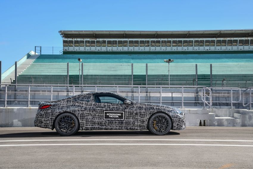F92 BMW M8 Coupe preliminary details – V8, 591 hp, M xDrive AWD; Convertible and Gran Coupe models later Image #886357