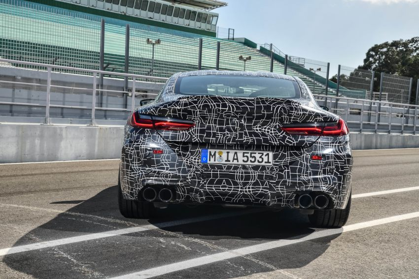 F92 BMW M8 Coupe preliminary details – V8, 591 hp, M xDrive AWD; Convertible and Gran Coupe models later Image #886360