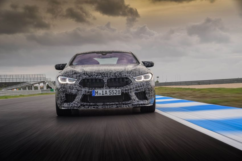 F92 BMW M8 Coupe preliminary details – V8, 591 hp, M xDrive AWD; Convertible and Gran Coupe models later Image #886361