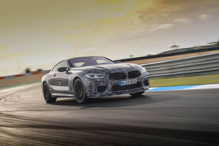 F92 BMW M8 Coupe preliminary details – V8, 591 hp, M xDrive AWD; Convertible and Gran Coupe models later Image #886362