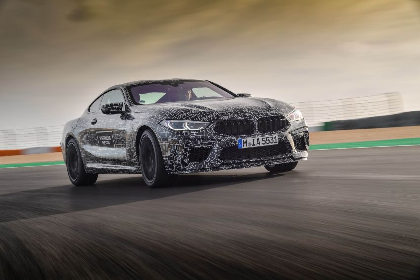 F92 BMW M8 Coupe preliminary details – V8, 591 hp, M xDrive AWD; Convertible and Gran Coupe models later Image #886363