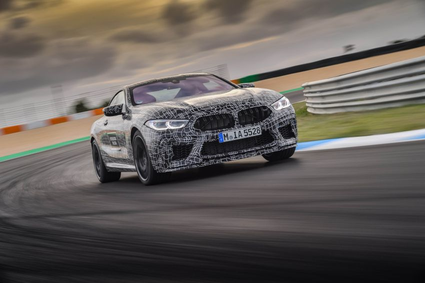 F92 BMW M8 Coupe preliminary details – V8, 591 hp, M xDrive AWD; Convertible and Gran Coupe models later Image #886364