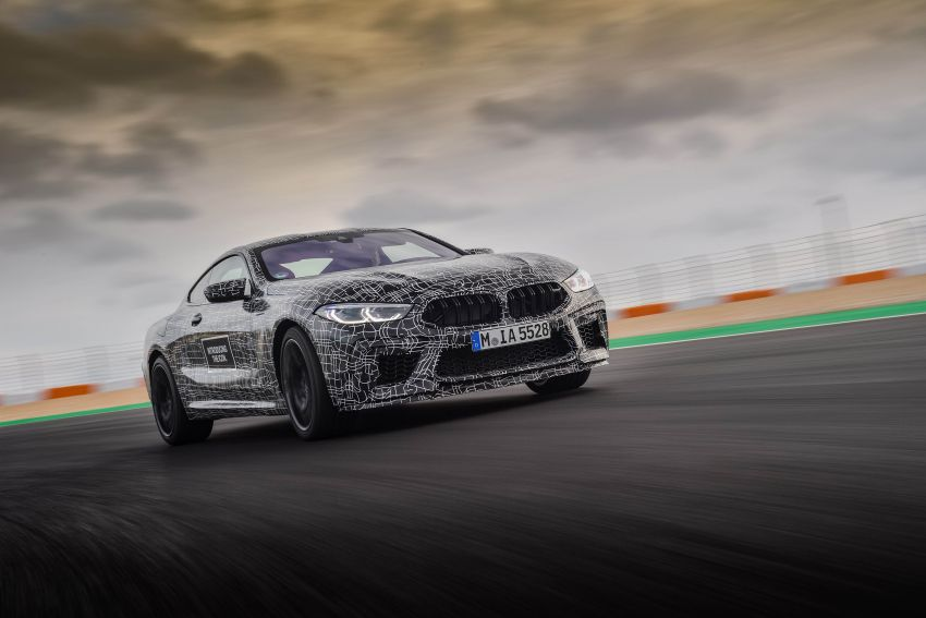 F92 BMW M8 Coupe preliminary details – V8, 591 hp, M xDrive AWD; Convertible and Gran Coupe models later Image #886366
