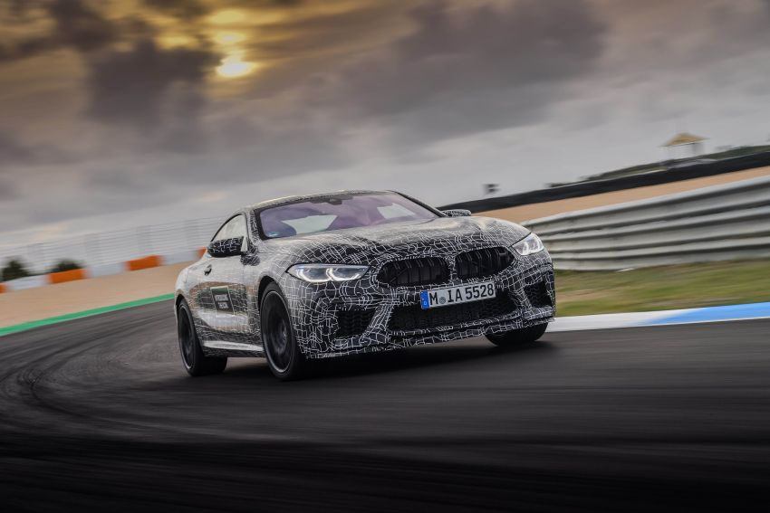 F92 BMW M8 Coupe preliminary details – V8, 591 hp, M xDrive AWD; Convertible and Gran Coupe models later Image #886368