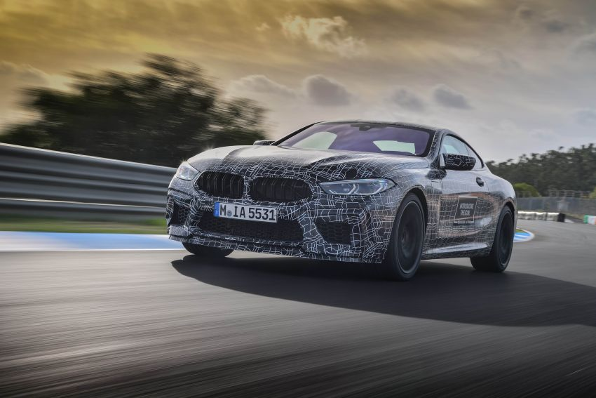 F92 BMW M8 Coupe preliminary details – V8, 591 hp, M xDrive AWD; Convertible and Gran Coupe models later Image #886370