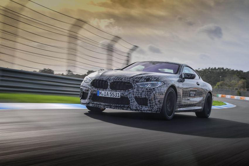F92 BMW M8 Coupe preliminary details – V8, 591 hp, M xDrive AWD; Convertible and Gran Coupe models later Image #886371