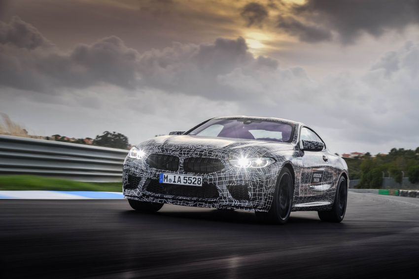 F92 BMW M8 Coupe preliminary details – V8, 591 hp, M xDrive AWD; Convertible and Gran Coupe models later Image #886372