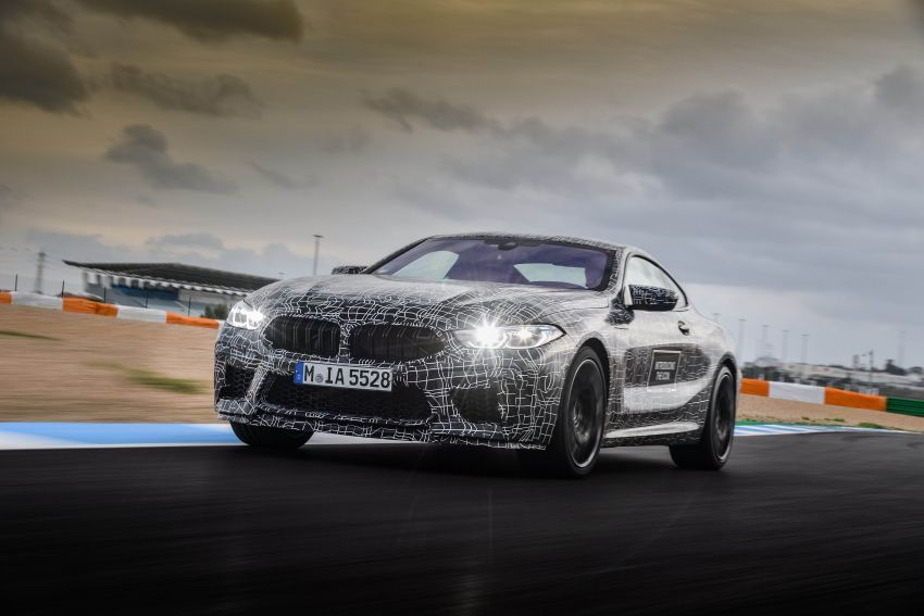 F92 BMW M8 Coupe preliminary details – V8, 591 hp, M xDrive AWD; Convertible and Gran Coupe models later Image #886373