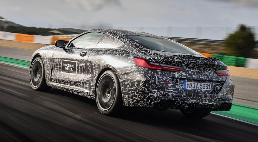 F92 BMW M8 Coupe preliminary details – V8, 591 hp, M xDrive AWD; Convertible and Gran Coupe models later Image #886376