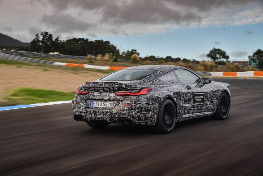 F92 BMW M8 Coupe preliminary details – V8, 591 hp, M xDrive AWD; Convertible and Gran Coupe models later Image #886378