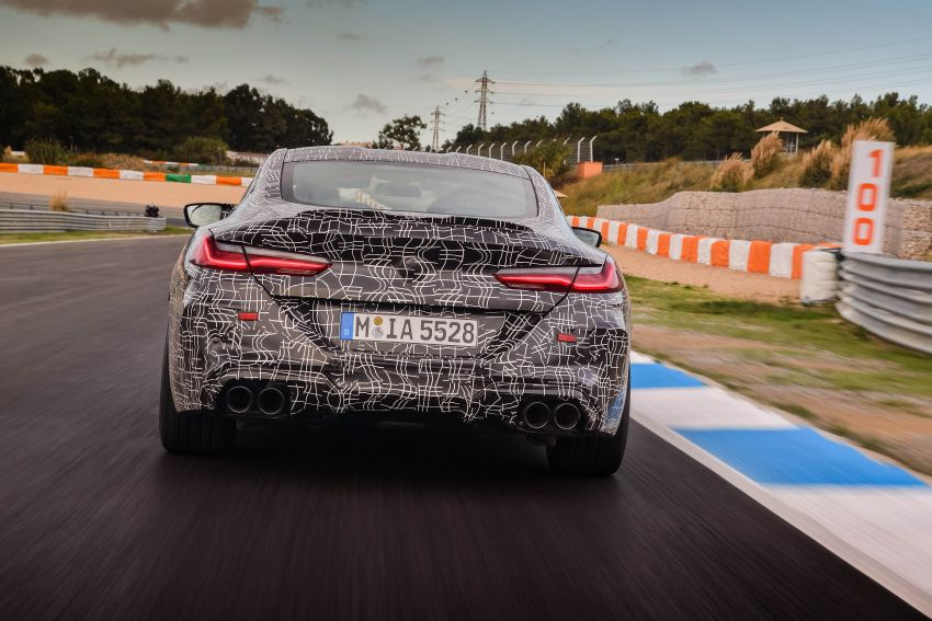 F92 BMW M8 Coupe preliminary details – V8, 591 hp, M xDrive AWD; Convertible and Gran Coupe models later Image #886382