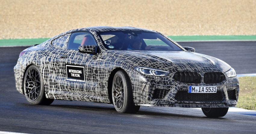 F92 BMW M8 Coupe preliminary details – V8, 591 hp, M xDrive AWD; Convertible and Gran Coupe models later Image #886383