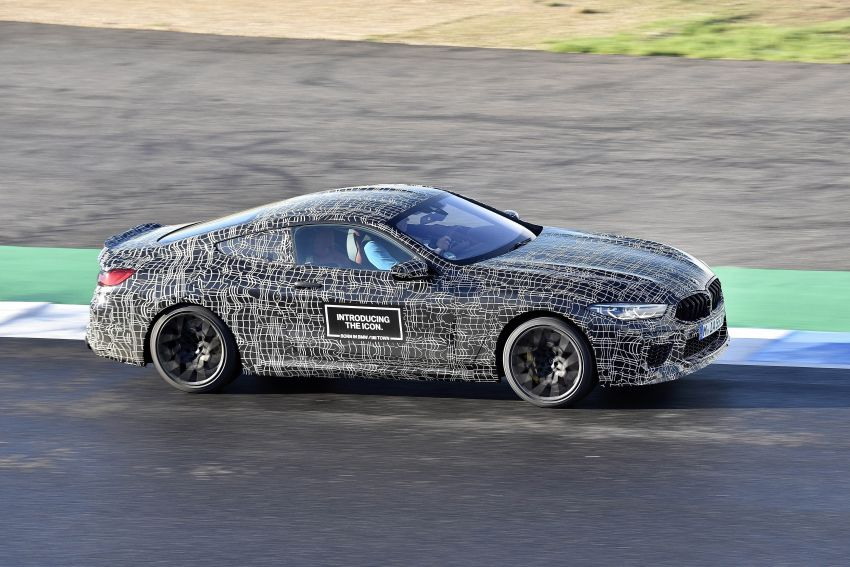 F92 BMW M8 Coupe preliminary details – V8, 591 hp, M xDrive AWD; Convertible and Gran Coupe models later Image #886385