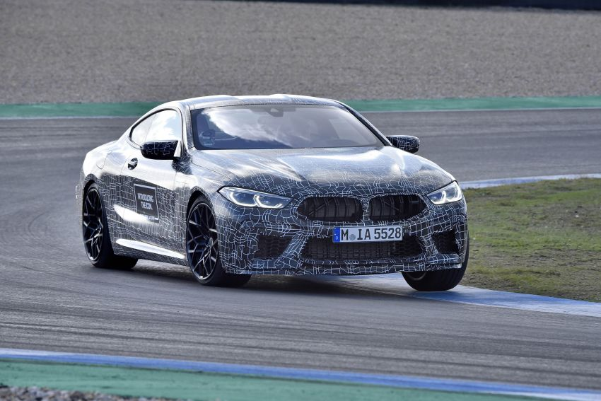 F92 BMW M8 Coupe preliminary details – V8, 591 hp, M xDrive AWD; Convertible and Gran Coupe models later Image #886387