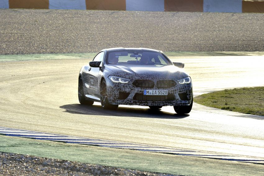 F92 BMW M8 Coupe preliminary details – V8, 591 hp, M xDrive AWD; Convertible and Gran Coupe models later Image #886389