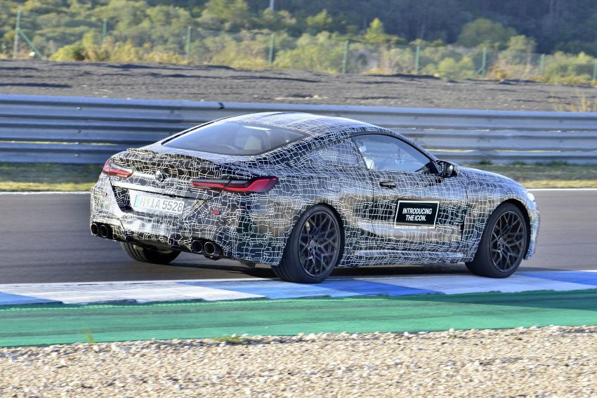 F92 BMW M8 Coupe preliminary details – V8, 591 hp, M xDrive AWD; Convertible and Gran Coupe models later Image #886390