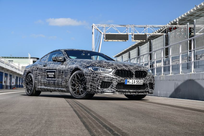 F92 BMW M8 Coupe preliminary details – V8, 591 hp, M xDrive AWD; Convertible and Gran Coupe models later Image #886350