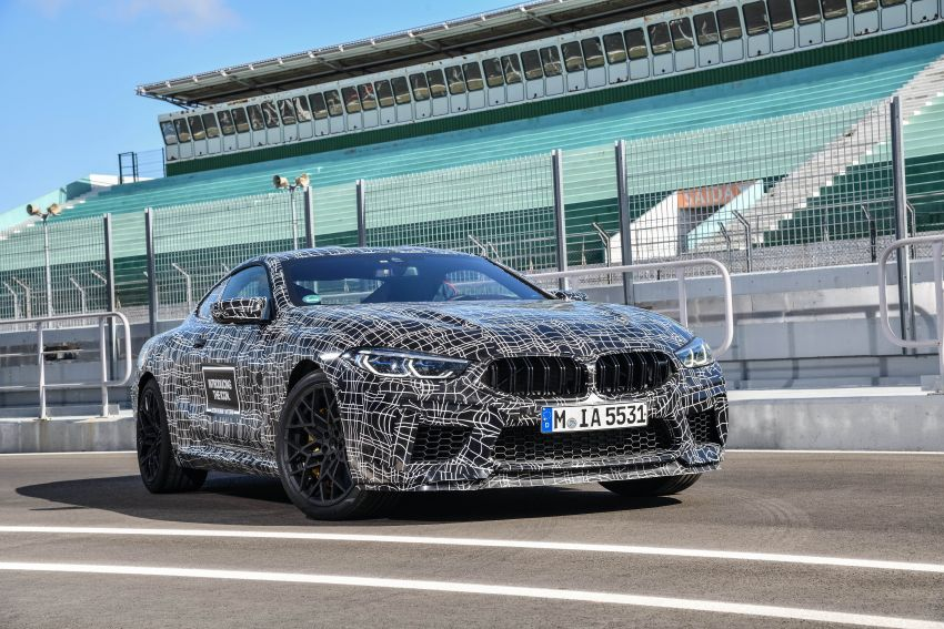 F92 BMW M8 Coupe preliminary details – V8, 591 hp, M xDrive AWD; Convertible and Gran Coupe models later Image #886351