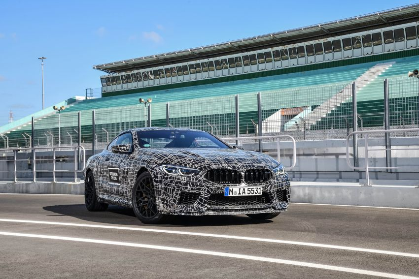 F92 BMW M8 Coupe preliminary details – V8, 591 hp, M xDrive AWD; Convertible and Gran Coupe models later Image #886352