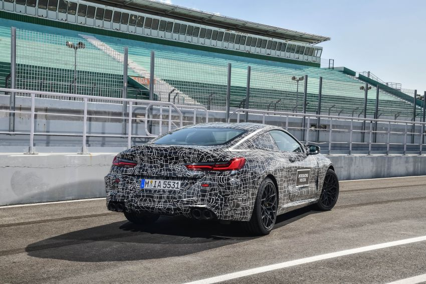 F92 BMW M8 Coupe preliminary details – V8, 591 hp, M xDrive AWD; Convertible and Gran Coupe models later Image #886353