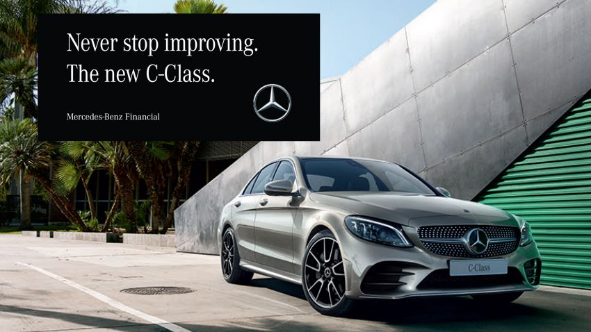 AD: Get the new Mercedes-Benz C-Class from just RM2,688 a month with Flex-C financing packages! Image #886033