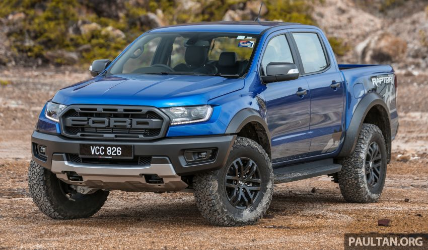 Ford Ranger Raptor kini tiba di Malaysia – KLIMS 2018 Image #890607