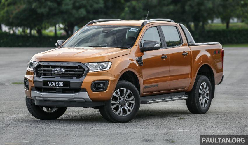 GALLERY: Ford Ranger – new 2019 facelift vs old 2016 Image #885355