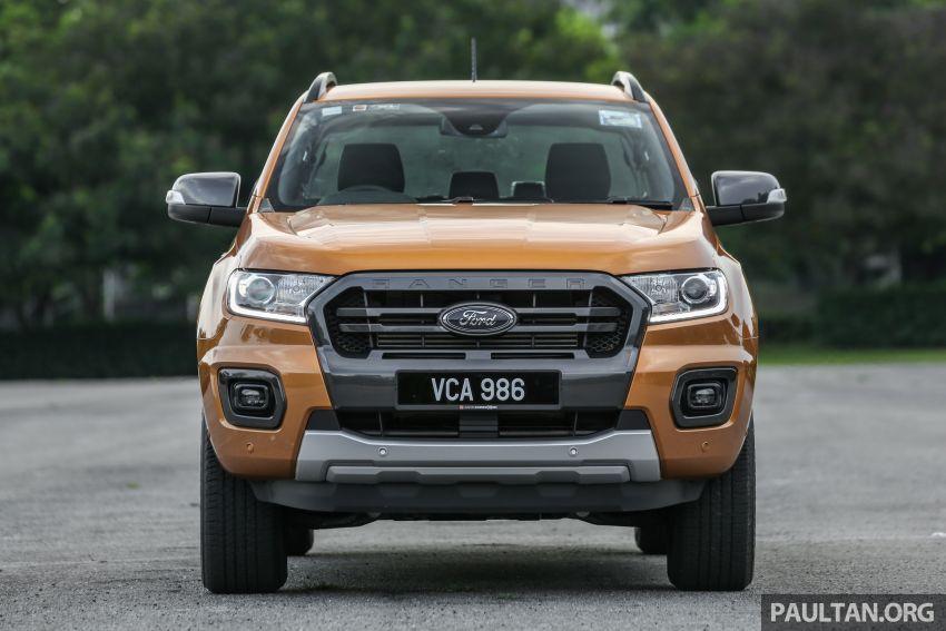 GALLERY: Ford Ranger – new 2019 facelift vs old 2016 Image #885367