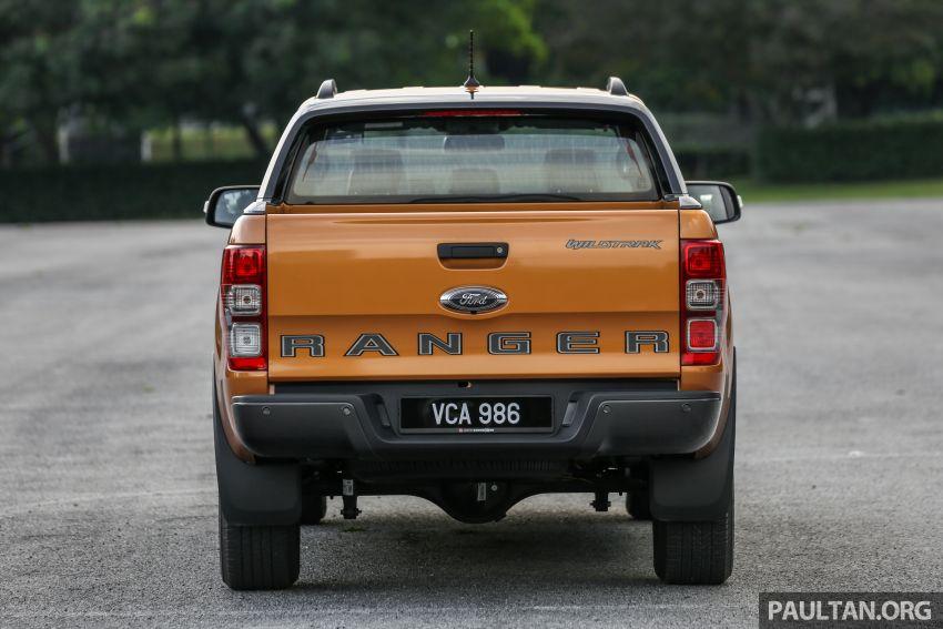 GALLERY: Ford Ranger – new 2019 facelift vs old 2016 Image #885368