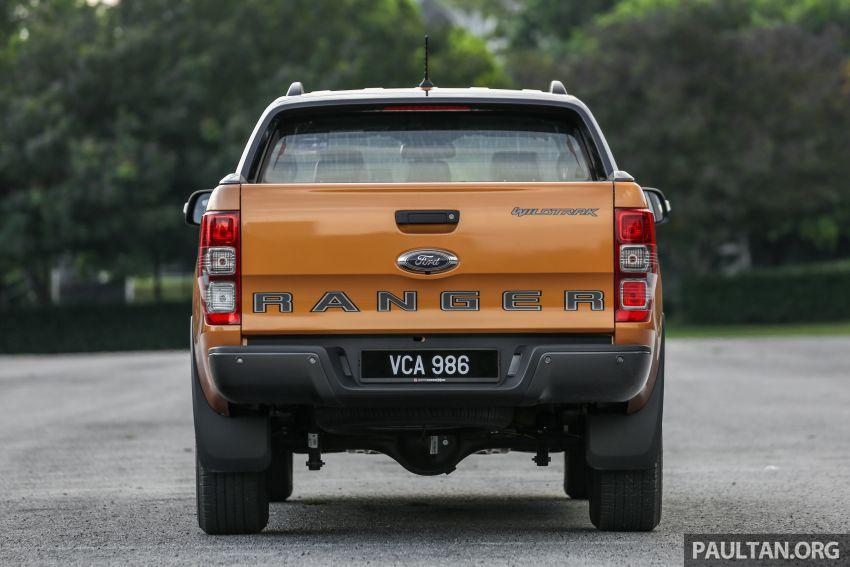 GALLERY: Ford Ranger – new 2019 facelift vs old 2016 Image #885370