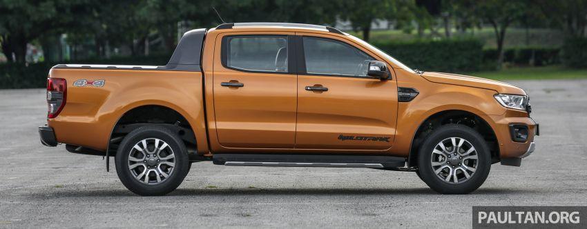 GALLERY: Ford Ranger – new 2019 facelift vs old 2016 Image #885371
