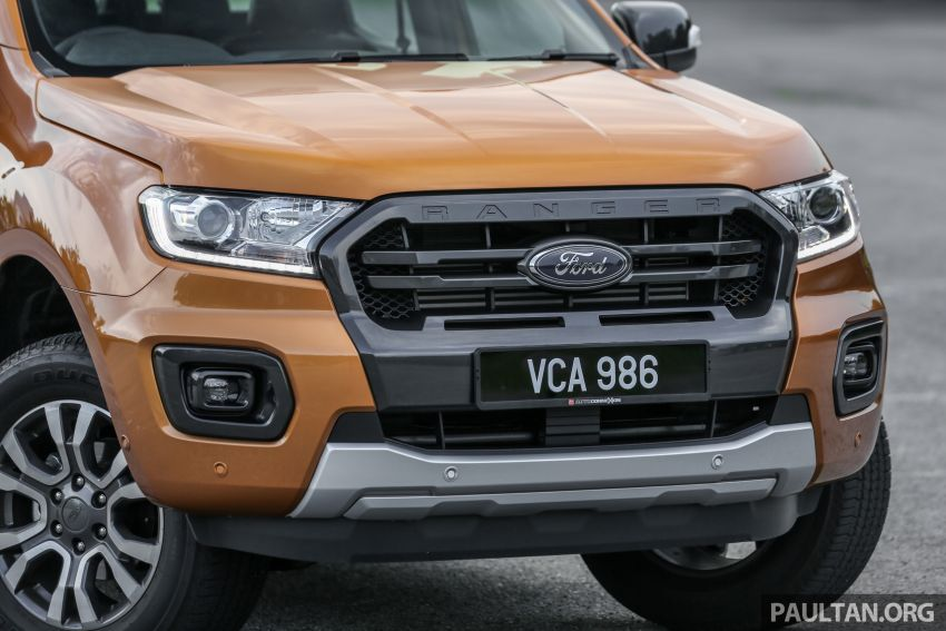 GALLERY: Ford Ranger – new 2019 facelift vs old 2016 Image #885374