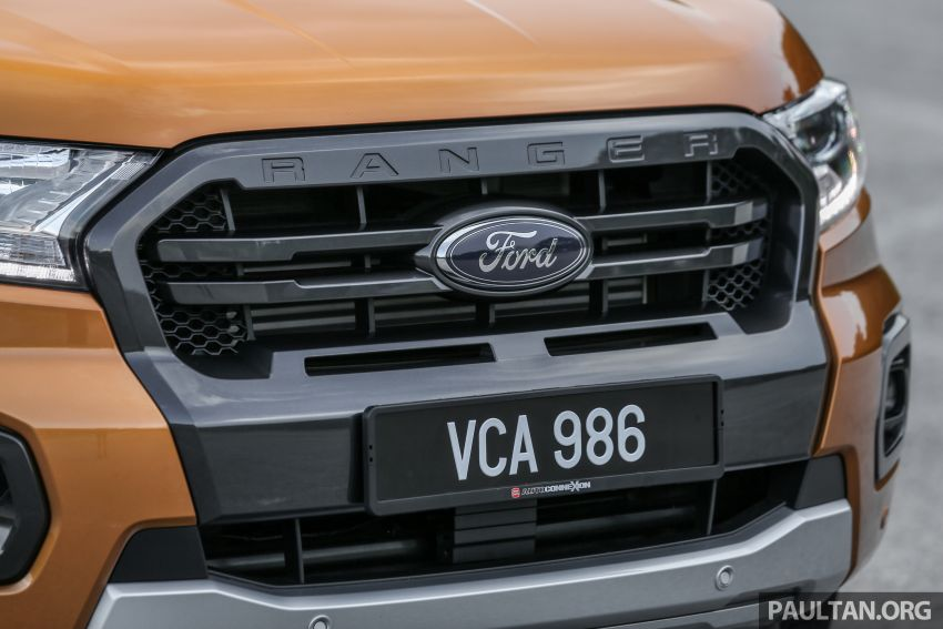 GALLERY: Ford Ranger – new 2019 facelift vs old 2016 Image #885379