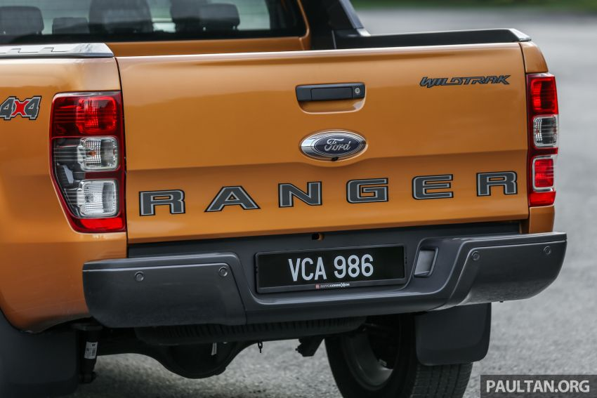 GALLERY: Ford Ranger – new 2019 facelift vs old 2016 Image #885395