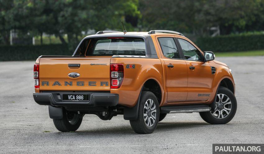 GALLERY: Ford Ranger – new 2019 facelift vs old 2016 Image #885360