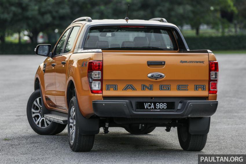 GALLERY: Ford Ranger – new 2019 facelift vs old 2016 Image #885364