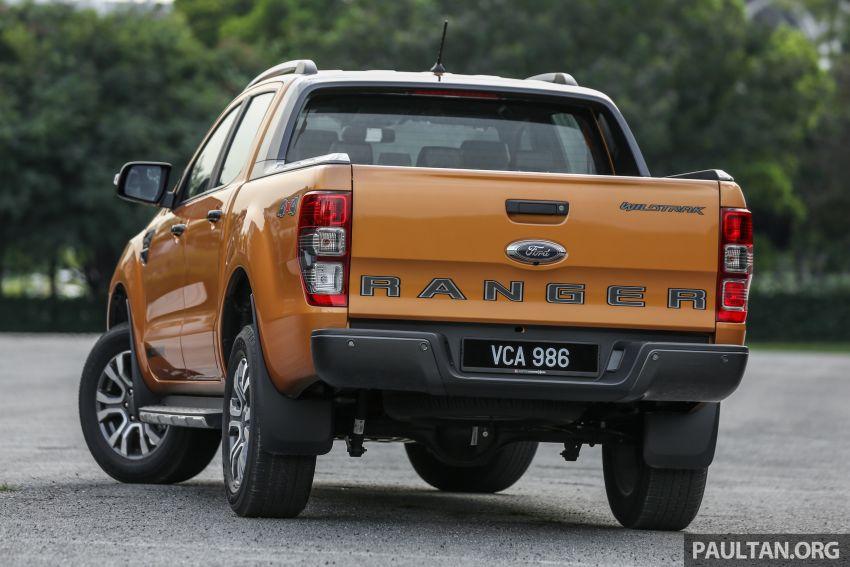 GALLERY: Ford Ranger – new 2019 facelift vs old 2016 Image #885365